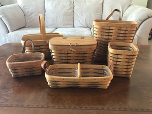 Heartland Longaberger basket collection for Sale in Bothell, WA