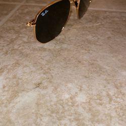 Hexagonal Ray bans, Model RB 3548-N, Color Gold Polarized Green Lense Unisex Sunglasses for Sale in Nashville,  TN