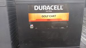 Duracell golf cart battery. $60 ! NEW! for Sale in Austin, TX