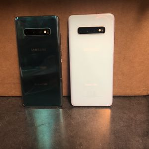 Galaxy S10 Plus AT&T/CRICKET 128 GB 420 Each for Sale in Dallas, TX