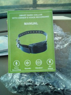 * New in Box * anti-bark dog collar for Sale in Boise, ID