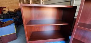 Wood bookshelf with 2 shelves for Sale in Rancho Cucamonga, CA