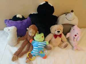Total 6 stuffed animal ..almost in new condition for Sale in Walnut Creek, CA
