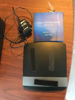 Linksys wireless router for Sale in Kinnelon, NJ