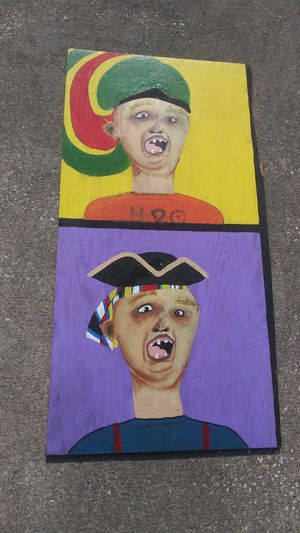 """Artwork Sloth from Goonies Acrylic on Plywood 48"""" x 24.5"""" **25.00 Firm** for Sale in Orlando, FL"""