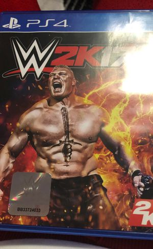 Wwe PS4 game for Sale in Westland, MI