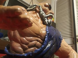 Original hand crafted sculpture, Gouken street Fighter 4 for Sale in Mountain View, HI