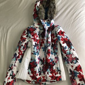 Obermeyer Vienna Snow-Fire Floral Coat - Size 6 - Waterproof for Sale in Whitmore Lake, MI