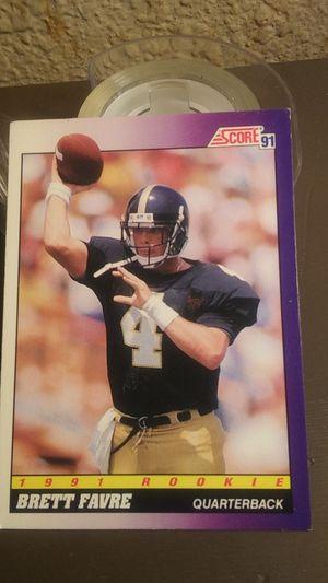 Brett Farve 1991 Rookie card for Sale in Maud, OK