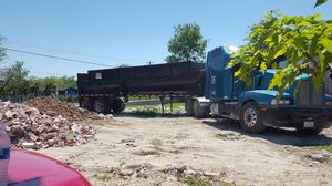 1990 END DUMP TRAILER 30 FOOT LONG for Sale in Houston, TX