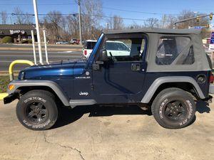 2005 Jeep Wrangler for Sale in Woodbridge, VA