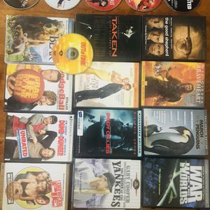 18 DVD's As Shown for Sale in Kirkland, WA