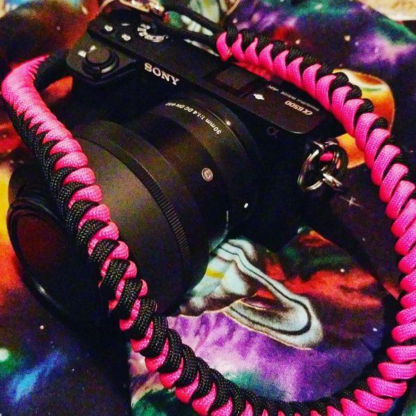Camera strap handmade