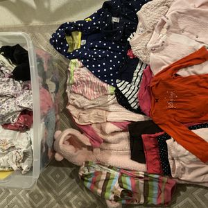 Girls 6-9 Month Clothing Full Bin for Sale in Clarence, NY