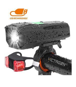 USB Rechargeable Bike Light&Taillight for Sale in Phoenix, AZ