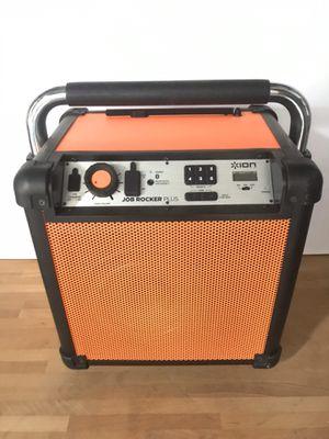 ION Job Rocker Plus Portable Bluetooth Speaker for Sale in Bellflower, CA
