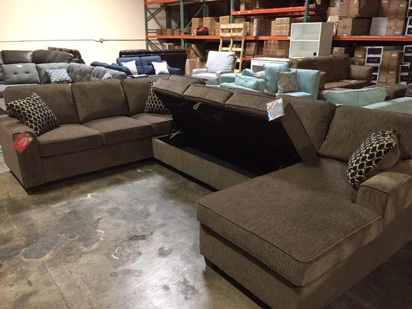 Coaster Furniture Sectional Storage Sofa