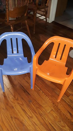 Kids chairs price is for both for Sale in Fresno, CA