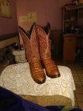 Botas piel de cocodrilo 7 1/2 for Sale in US