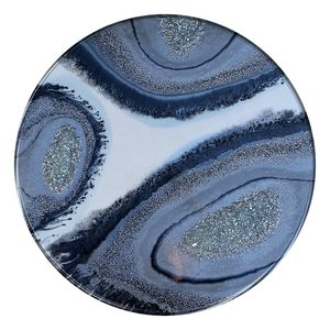 """3 eye geode, acrylic painting, geode art, abstract art, 23"""" round wood for Sale in Burbank, CA"""