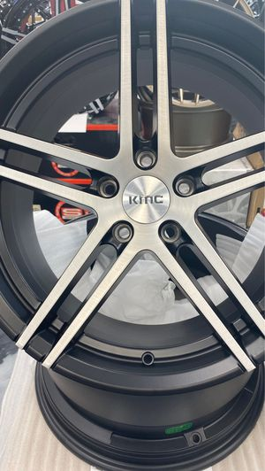 Kmc Rims No Tires 19x8.5 BP:5x120 for Sale in Tampa, FL