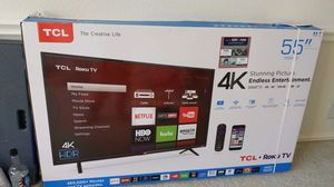 "Almost NEW Superb TCL Roku 55"" 55S403 Smart TV with remote for Sale in Coppell, TX"