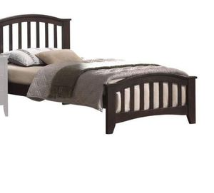 Twin Bed - 04980T - Dark Walnut FI6D for Sale in Ontario, CA