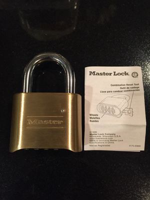 Combination lock for Sale in Rancho Cucamonga, CA