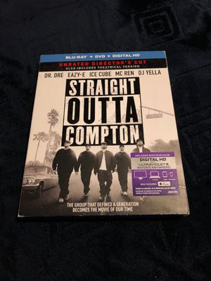 Straight Outta Compton Blu Ray+DVD+Digital HD for Sale in Los Angeles, CA
