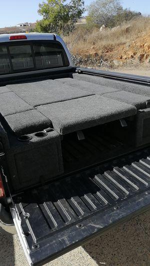 Insulated Truck Bed Camper Setup for Sale in La Costa, CA