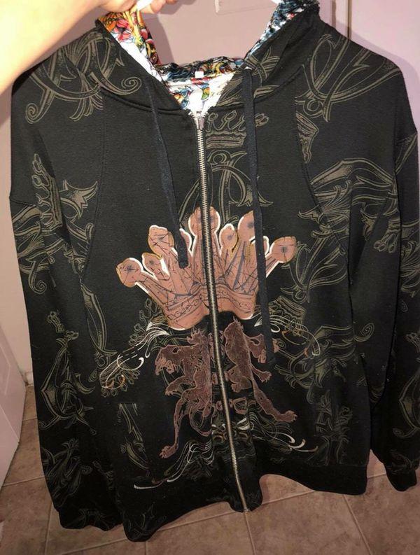 Ed Hardy Hoody Reversible jacket