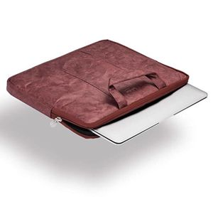 14 Inch Waterproof Laptop Bag ,Super Slim Lightweight Compatible with Notebook, MacBook by Lafolie (Wine Red) for Sale in McLean, VA
