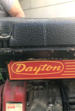 Dayton 3w953 generator for Sale in Sacramento, CA