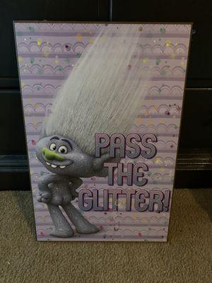 Trolls picture $10 for Sale in Glendale, AZ