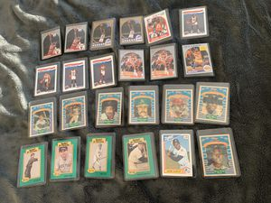 Collectible basketball and baseball cards for Sale in San Antonio, TX