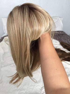 Ash Blonde Wig with bangs for Sale in Pinellas Park, FL