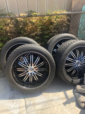 Rims and tires for Sale in Bellflower, CA