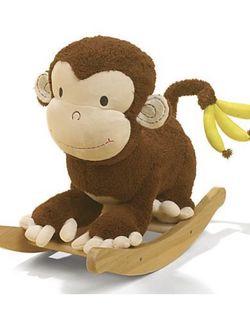 Rockabye Mocha Monkey Rocker Musical (Good condition) for Sale in Cornelius, NC