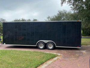 26x8 Enclose car hauler trailer for Sale in Winter Springs, FL
