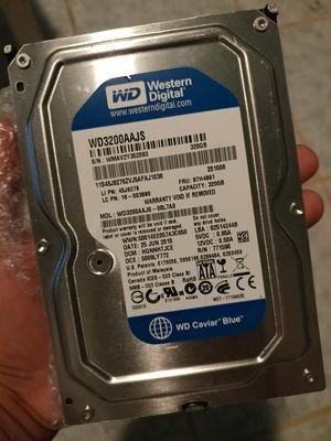 *DESKTOP HARD DRIVE* 320GB WESTERN DIGITAL SATA HD for Sale in Brownsville, TX