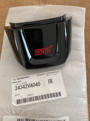2015 Subaru wrx STi steering wheel piece for Sale in Las Vegas, NV
