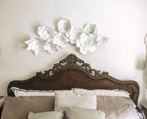 Cal King Bedframe- Solid Wood for Sale in Lakeside, CA