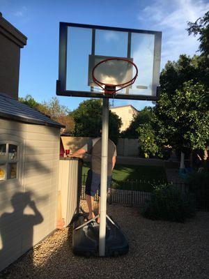 Freestanding basketball hoop for Sale in Phoenix, AZ