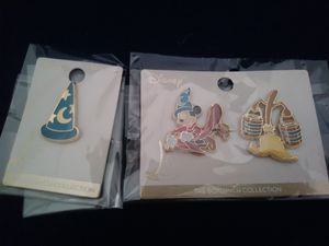 New Disney Mickey Mouse Fantasia 3 Pins for Sale in Irvine, CA