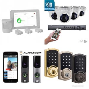 Home Security System w/ Cameras for Sale in Houston, TX