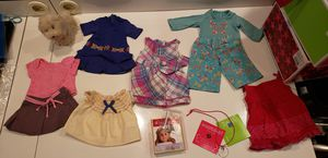 American girl doll cloth $10 and out $5 per article for Sale in Downers Grove, IL
