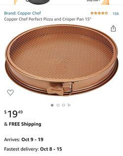 Copper chef perfect pizza for Sale in Bakersfield,  CA