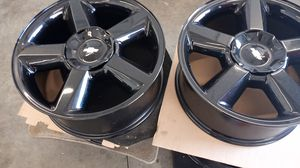 Chevy black factory rims for Sale in Grove City, OH