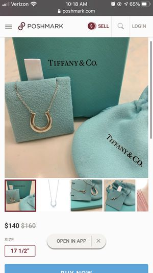 Tiffany's necklace for Sale in Maricopa, AZ