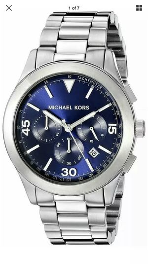 NEW AUTHENTIC MICHEAL KORS MENS WATCH MK-8469 for Sale in Jessup, MD